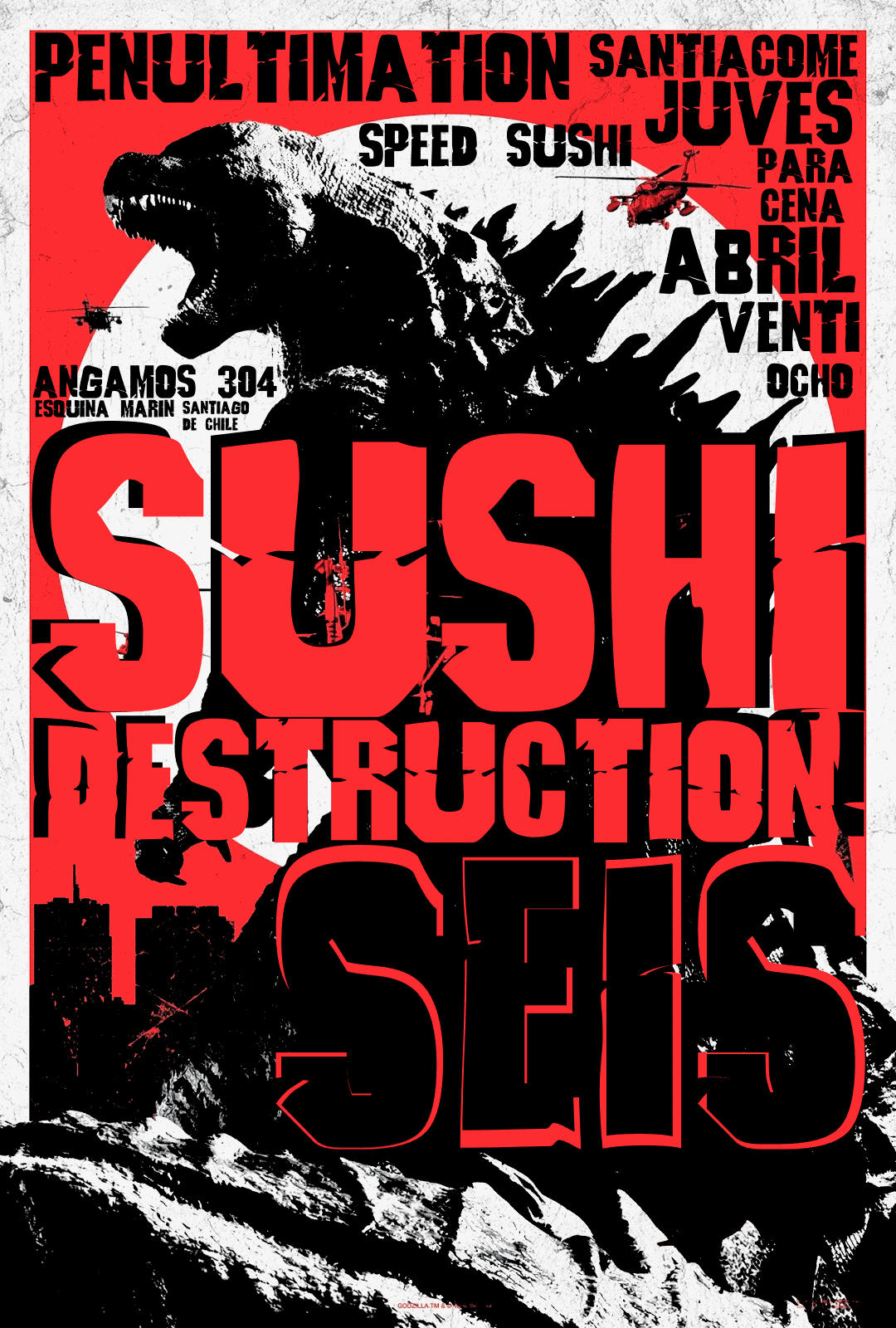 Sushi Destruction 6